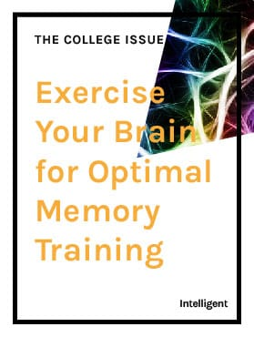 Exercise Your Brain for Optimal Memory Training