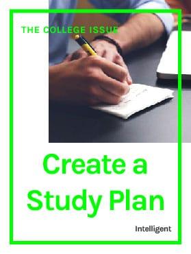 Create a Study Plan