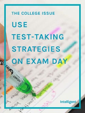 Use Test-Taking Strategies on Exam Day